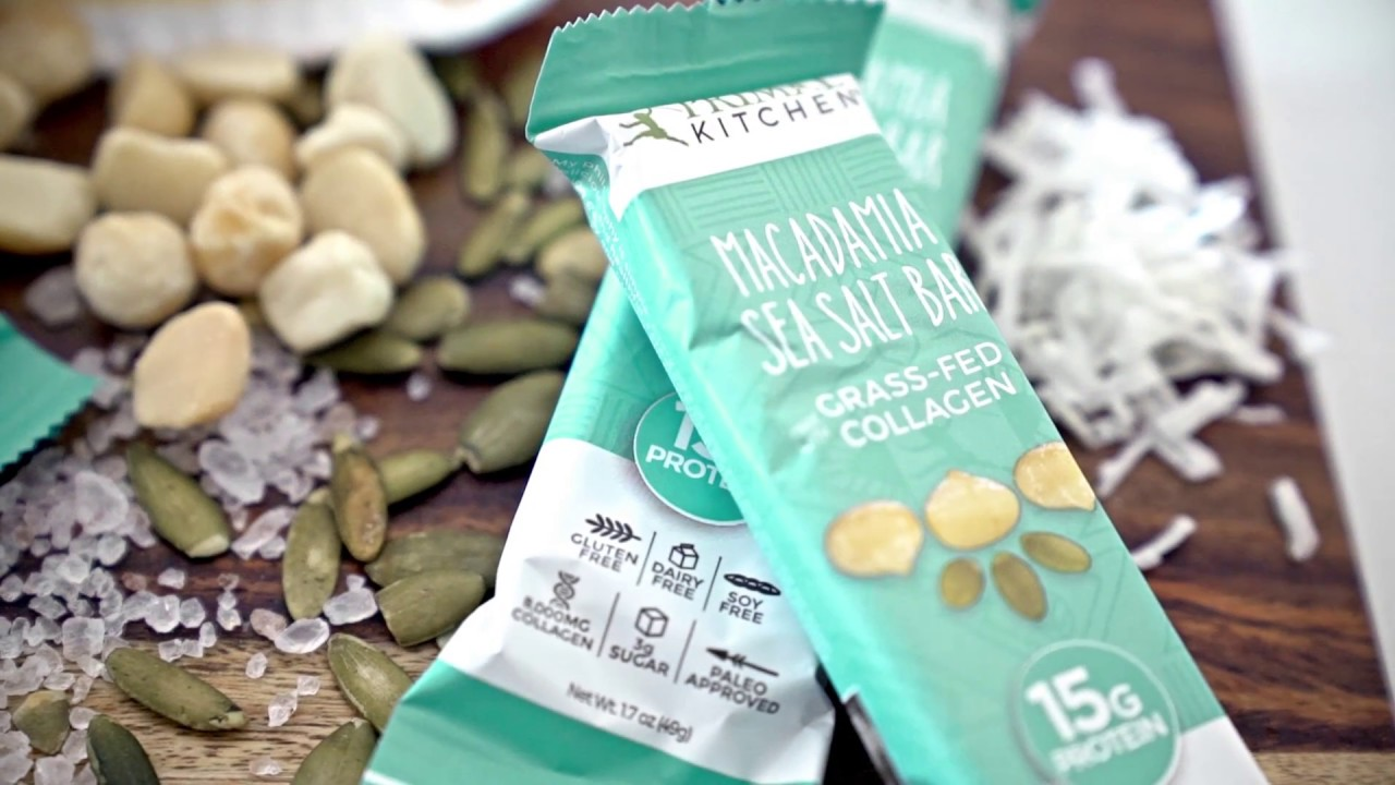 Primal Kitchen Introducing The Primal Kitchen Macadamia Sea Salt Bar  Youtube