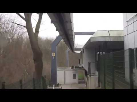University of Dortmund H-Bahn (the hanging train), Nordrhein-Westfalen, Germany - 25th March, 2015