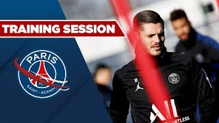 TRAINING SESSION : PARIS SAINT-GERMAIN vs BORDEAUX