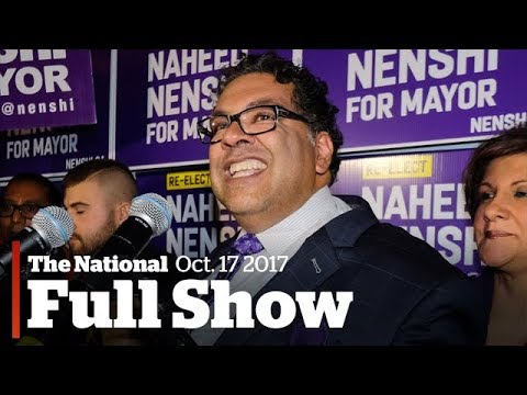The National for October 17th: Calgary election, Bombardier