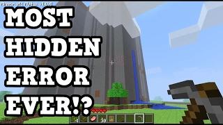 Minecraft Glitch: That Took 6 Years To Find