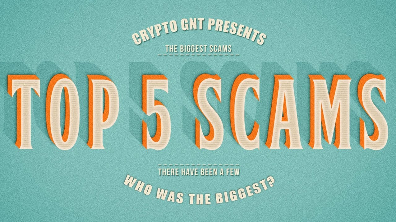 Top 5 Crypto Currency scams of all time!
