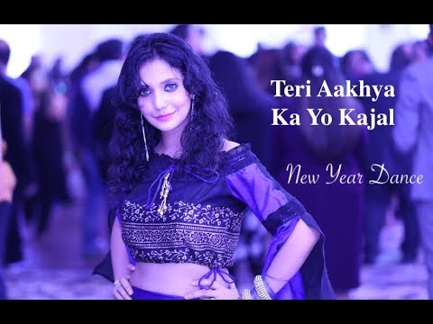 Teri Aakhya Ka Yo Kajal Dance | Live Performance
