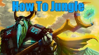 DoTa 2 How To Jungle Nature's Prophet Patch 7.22