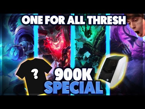 COMPUTER GIVEAWAY   THRESH ONE FOR ALL DOUBLE PENTA - BunnyFuFuu
