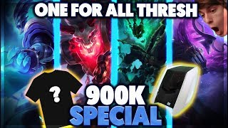 COMPUTER GIVEAWAY | THRESH ONE FOR ALL DOUBLE PENTA - BunnyFuFuu