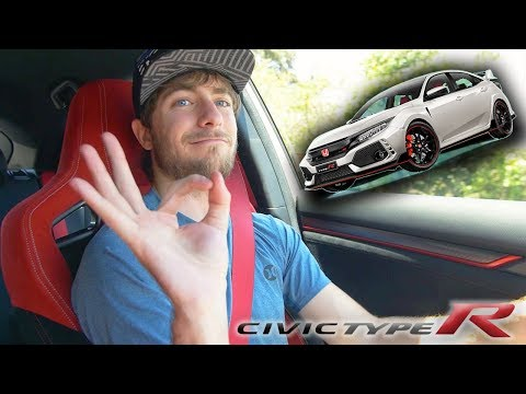 The Civic Type R is Nucking Futs - Civic Type R Review! (finally)