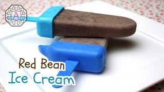Red Bean Ice Cream (팥 아이스크림)