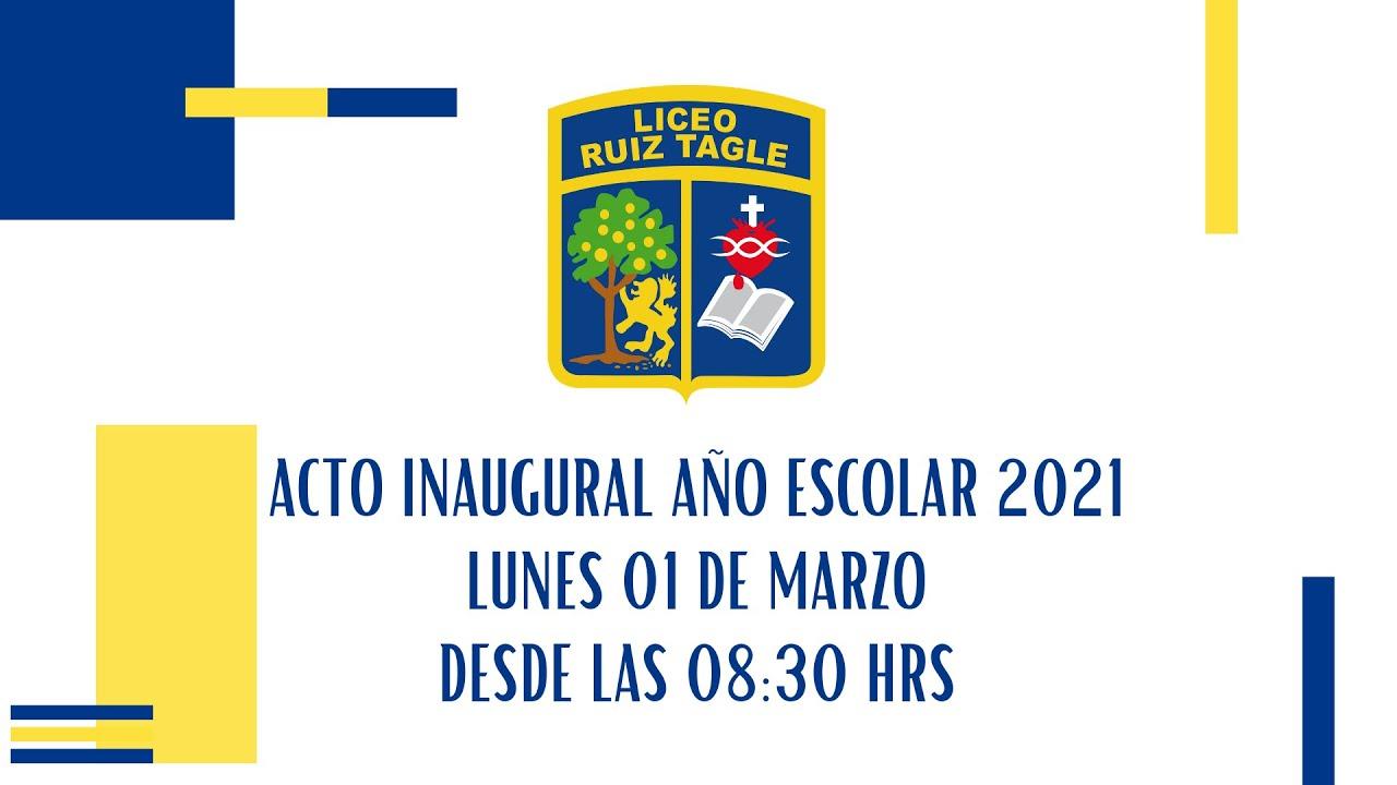REVISA NUESTRO ACTO INAUGURAL DEL AÑO ESCOLAR 2021