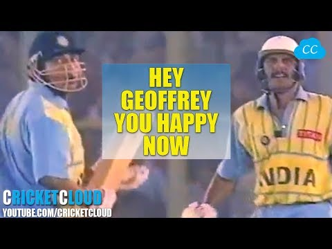 Azhar's back to back SIXES Embarrassed Commentator Geoffrey Boycott !!