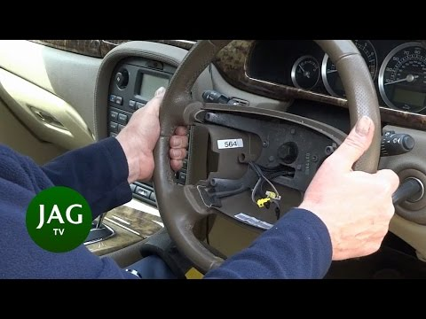 Jaguar S-Type STEERING WHEEL REPLACEMENT