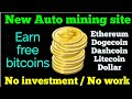(New) How to earn unlimited free bitcoin and doge coins
