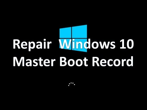 Ultimate Guide On How To Repair Windows 10 Master Boot Record After Messing Up EFI