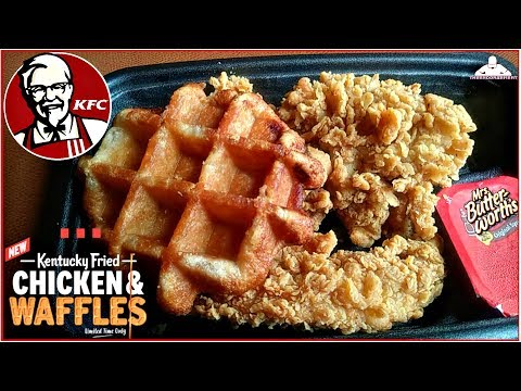 Heath West - KFC Has Added Waffles To Its Chicken