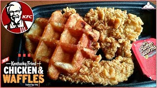kfc chicken and waffles