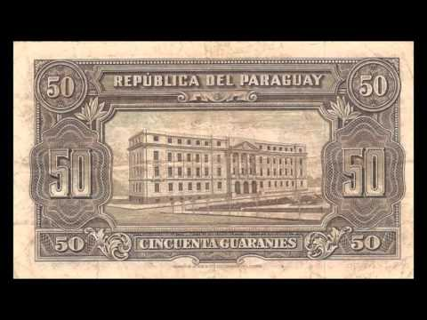 All Paraguayan Guarani Banknotes - 25.03.1952 Issue