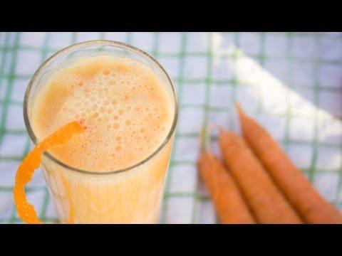 Рецепт Тыквенно морковный смузи на завтрак