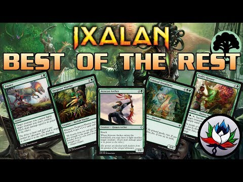 MTG - Ixalan Spoilers: Best of the Rest Set Review – Part 5: Green!