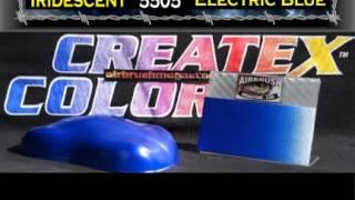 Createx الألوان البراقة مجموعة كاملة