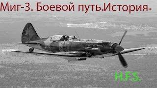 МиГ 3 на фоне первого года боев ВОВ.