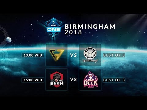 Boom.id VS Geekfam (BO3) - Esl Birmingham 2018