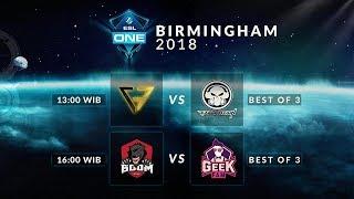 Clutch Gamer VS Execration (BO3) - Esl Birmingham 2018