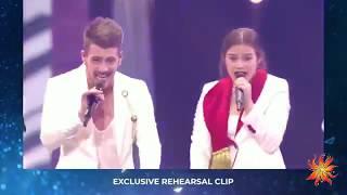 Montenegro - D Mol - Heaven - Exclusive Rehearsal Clip - Eurovision 2019