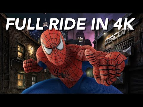 The Amazing Adventures of Spider-Man The Ride | 4K