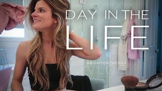 "Hey guys! so excited to share this video with you! it was hard narrow down what a ""typical"" day looks like because be honest, every is different..."
