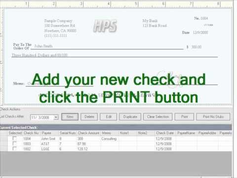 Free Check Writer Software for Any Business