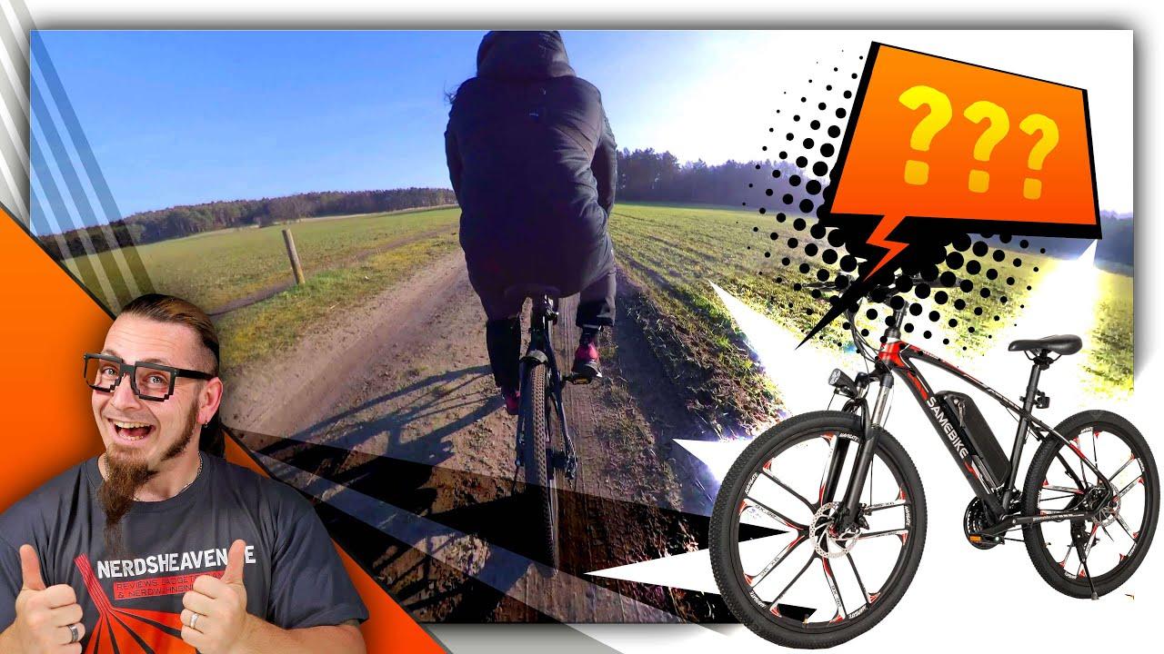 Samebike E-Bike - Lohnt sich der Import eines China E-Bikes? - Test