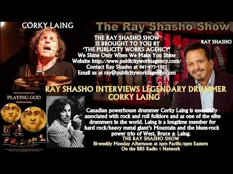'Mountain' Drumming Legend Corky Laing Chats About Inception Of