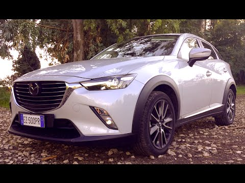 new mazda cx 3 1 5 skyactiv diesel 2wd 105 cv exceed 2016 first test drive youtube. Black Bedroom Furniture Sets. Home Design Ideas