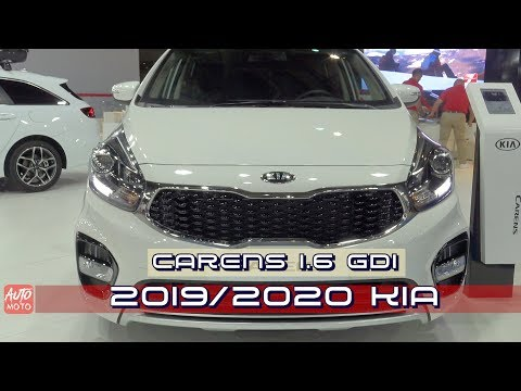 2019/2020 Kia Carens Drive 5doors 1.6 GDI - Exterior And Interior - 2019 Automobile Barcelona