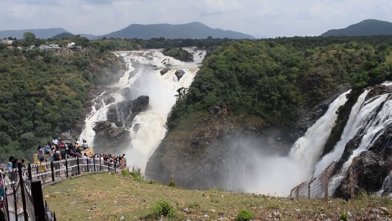 how to go to shivasamudram falls from bangalore