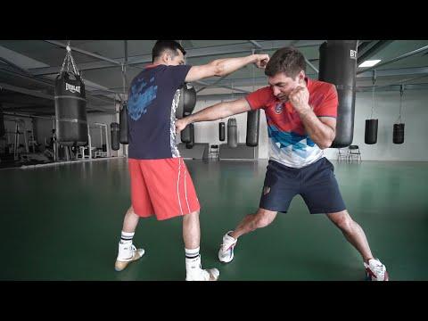 Как бить передней рукой / Советская школа бокса