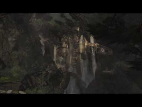 Живые обои - Lara Croft (обломки)