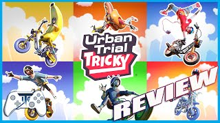 Urban Trial Tricky Review - Its time to get Tricky! (Video Game Video Review)