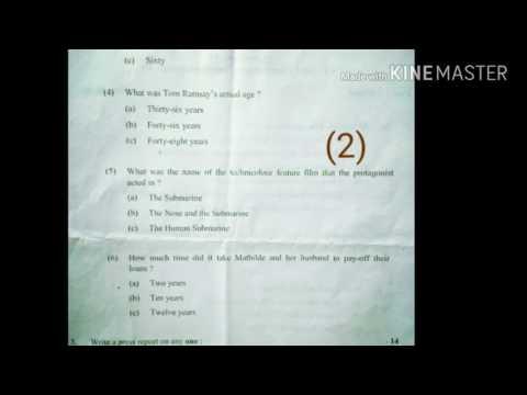 ENGLISH MEDIUM GUJARAT UNIVERCITY B.COM SEM.6 EXM PAPER COMMERCIAL COMMUNICATION-VI
