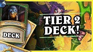 TIER 2 DECK! - DEATHRATTLE HUNTER - Hearthstone Deck (Rastakhan's Rumble)