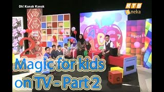 Magic Performance For A Kids Programme @ RTB (2)