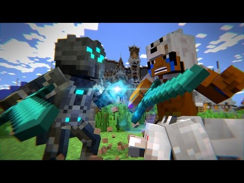 Mega Walls: Deathmatch - Part 1 [Welcome To The Chaos] - Minecraft Animation