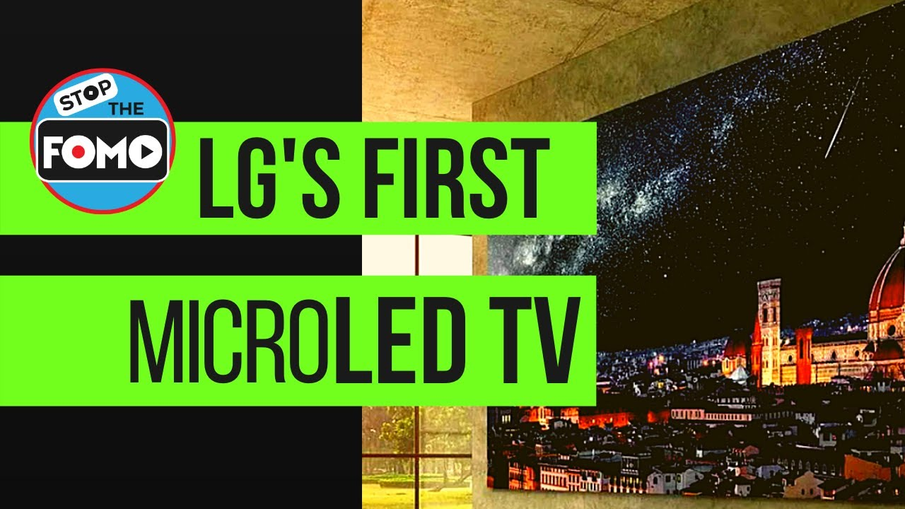 LG's First MicroLED TV $200,000: Specs & Use Case Review | LG LSAB009