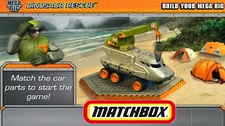 Juego De Autos 48: MATCHBOX 2014: La Gran Caceria De Dinosaurios: Mega Rig