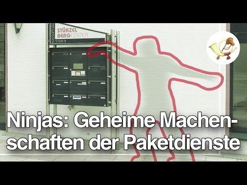 Ninjas: Die geheimen Machenschaften der Paketdienste [Postillon24 deckt auf]