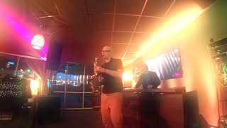 Saxophone & Dj - Syntheticsax, Dj Sandr - Live records from BambooBar Moscow