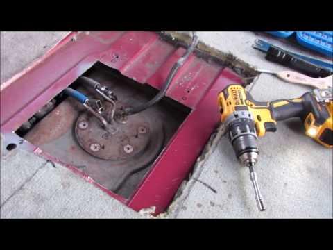 Econoline E150, E250, E350 Fuel Pump Replace Via Access Hole