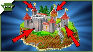 Easy Minecraft Castle Building System