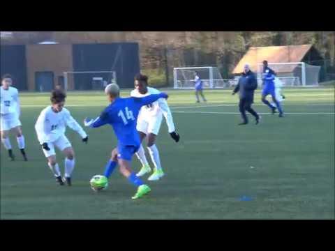 Match amical INF Clairefontaine Génération 2004 vs U14 CFFP (2ème mi-temps), 17 01 2018