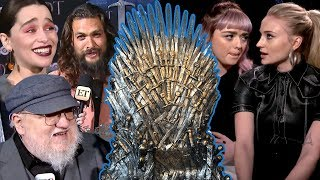 ET caught up with Emilia Clarke, Sophie Turner and more 'GoT' stars to find out which character deserves to win the Iron Throne. The eighth and final season of ...